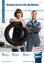 Frühlingsprospekt Bosch Car Service