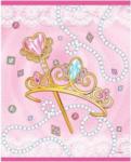 Pagro UNIQUE Partytüten Birthday Princess 8 Stück pink