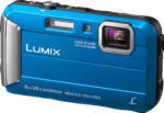 MediaMarkt PANASONIC Lumix DMC-FT30EG-D Digitalkamera Blau, 16.1 Megapixel, 4x opt. Zoom, TFT-LCD