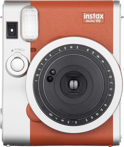 Sofortbildkamera Instax Mini 90 Neo Classic, braun
