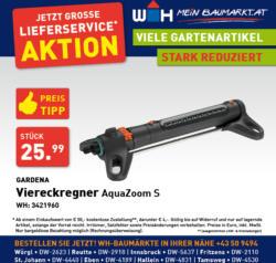 Gardena Viereckregner AquaZoom S