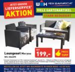 Würth-Hochenburger - Baustoffniederlassung Loungeset Merano - bis 31.10.2020