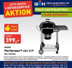 Weber Performer GBS 57