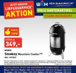 Weber Smokey Mountsin Cooker