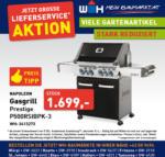 Würth-Hochenburger - Baustoffniederlassung Napoleon Gasgrill Prestige P500RSIBPK-3 - bis 31.10.2020