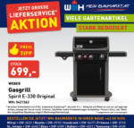 Würth-Hochenburger - Baumarkt Weber Gasgrill Spirit E-330 Original - bis 31.10.2020