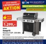 Würth-Hochenburger - Baustoffniederlassung Weber Gasgrill Genesis II EP-335 GBS - bis 31.10.2020