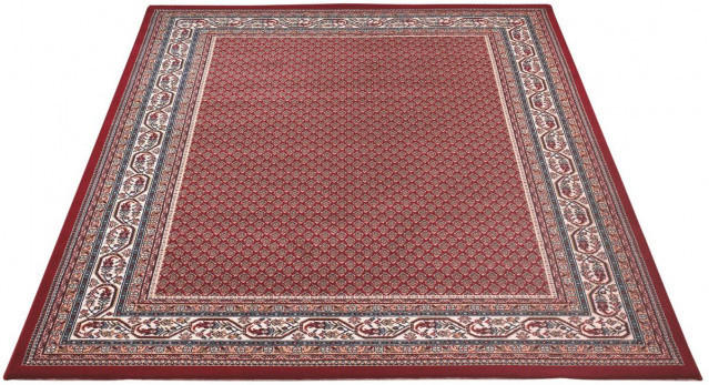 Teppich orientgemustert ca. 170 x 230 cm rot
