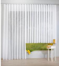 Fertig-Store Finnesse, weiß, ca. 245 x 300 cm