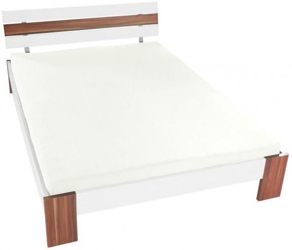 Jersey-Spannbetttuch 150 x 200 cm weiß