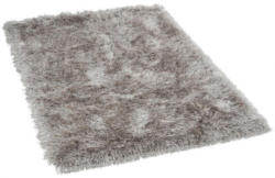 Teppich Glossy ca. 80 x 150 cm silber