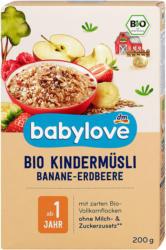 babylove Bio Kindermüsli Banane-Erdbeere