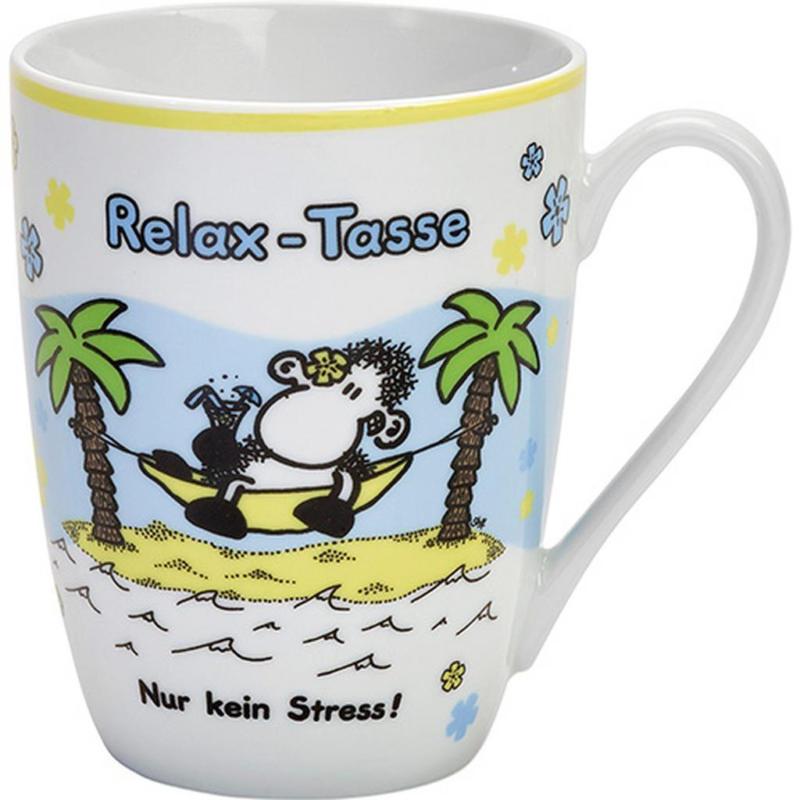 Kaffeebecher ca. 300ml Relax Tasse