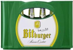 Bitburger Pils, Alkoholfrei oder Premium Kellerbier 24 x 0,33/20 x 0,5 Liter, jeder Kasten