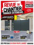 Brico Dépôt Revue de chantier - Travaux extérieurs - au 01.06.2020