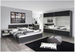 Bettanlage Penzberg grau metallic/Betonoptik 180 cm