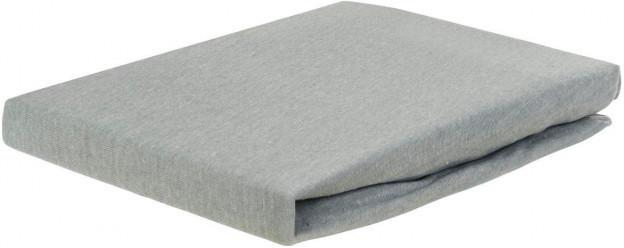 Jersey Spannbetttuch grau180 x 200 cm