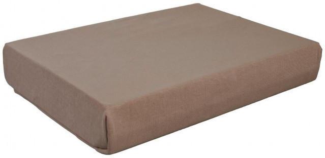Boxspring Spannbetttuch taupe 140-160 x 200-220 cm