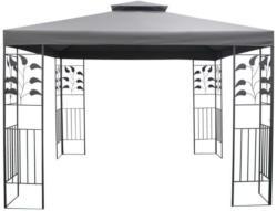 Pavillon Ranke ca. 300x300cm anthrazit