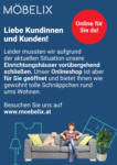 Möbelix Online für Sie da!