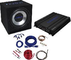 CBP 1000 Car-HiFi-Set Basspaket 4-Kanal Soundsystem