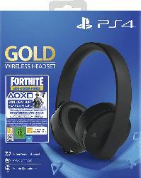 PS4 7.1 Wireless-Headset Gold Edition: Fortnite Neo Versa Bundle