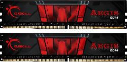 Arbeitsspeicher Aegis DIMM Kit 16GB, DDR4-2666, CL19-19-19-43, Schwarz (F4-2666C19D-16GIS)