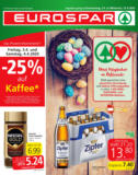 EUROSPAR Flugblatt 02.04. bis 15.04. Oberösterreich