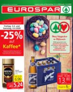 EUROSPAR Flugblatt 02.04. bis 15.04. Wien, Niederösterreich & Burgenland