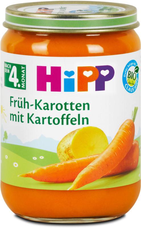 Hipp Babybrei Früh-Karotten mit Kartoffeln