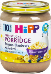 Hipp Frühstücksporridge Banane-Blaubeere-Haferbrei