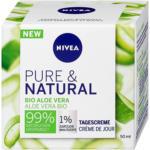 dm Nivea Pure & Natural Tagescreme Bio Aloe Vera