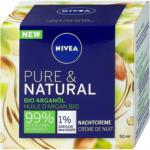 dm Nivea Pure & Natural Nachtcreme Bio Arganöl