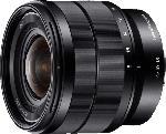 MediaMarkt SONY SEL1018 10 mm-18 mm f/4.0 OSS, ED, ASPH, Circulare Blende (Objektiv für Sony E-Mount, Schwarz)
