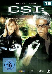 CSI: Crime Scene Investigation - Die komplette Staffel 12