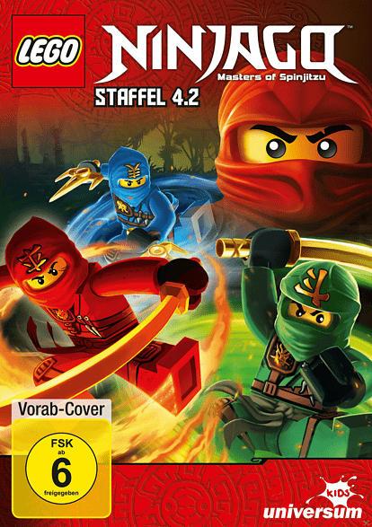 Lego Ninjago: Meister des Spinjitzu 4.2 [DVD]