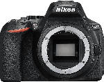 MediaMarkt NIKON D5600 Body Spiegelreflexkamera, 24.2 Megapixel, Full HD, Touchscreen Display, Schwarz
