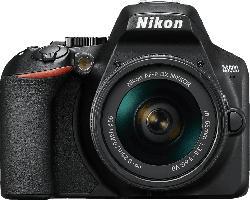 D3500 schwarz mit Objektiv AF-P VR DX 18-55mm 3.5-5.6G (VBA550K001)