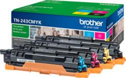 BROTHER TN-243CMYK Toner Multipack 4-Farben (Cyan, Magenta, Gelb, Schwarz)