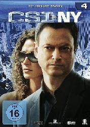 CSI: NY - Die komplette Staffel 4
