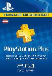 Saturn PlayStation Plus Mitgliedschaft - 3 Monate - [PS4, PS3, PS Vita PSN Code - österreichisches Konto]