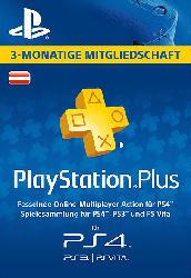 PlayStation Plus Mitgliedschaft - 3 Monate - [PS4, PS3, PS Vita PSN Code - österreichisches Konto]