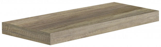 Wandregal Tuna 2 Wildeiche-Nachbildung 60 cm
