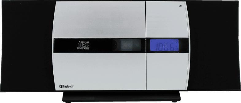 SOUNDMASTER DISC5000 Kompaktanlage (Schwarz/Silber)