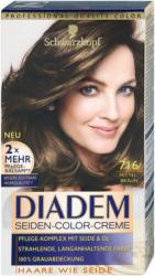 Diadem Seiden-Color-Creme dauerhafte Haarfarbe - Nr. 716 Mittelbraun