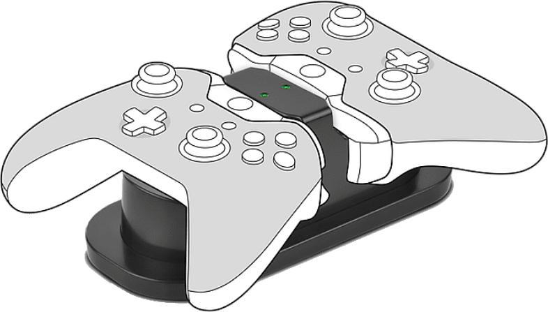 TWINDOCK Charging System - für Xbox One, schwarz