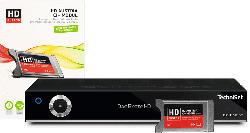 Sat-Receiver DIGIT ISIO S2 mit HD AUSTRIA CI+ Modul, schwarz