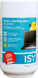 Reinigungstücher für Bildschirme, 100 Stück, Zitronenduft (ICL-6450-1)