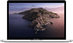 MacBook Pro mit Touch Bar, 13 Zoll, silber (MUHQ2D/A)