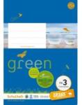 Pagro URSUS GREEN Schulheft A5 FX3 20 Blatt kariert